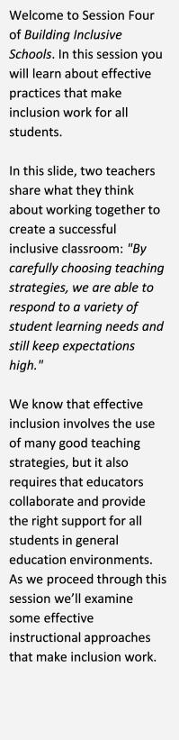 Building Inclusive Schools Elearning Module 2015