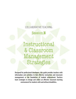 Collaborative Teaching Session E: Instructional & Classroom Management Strategies