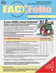 Family FACT Folio, volume 3