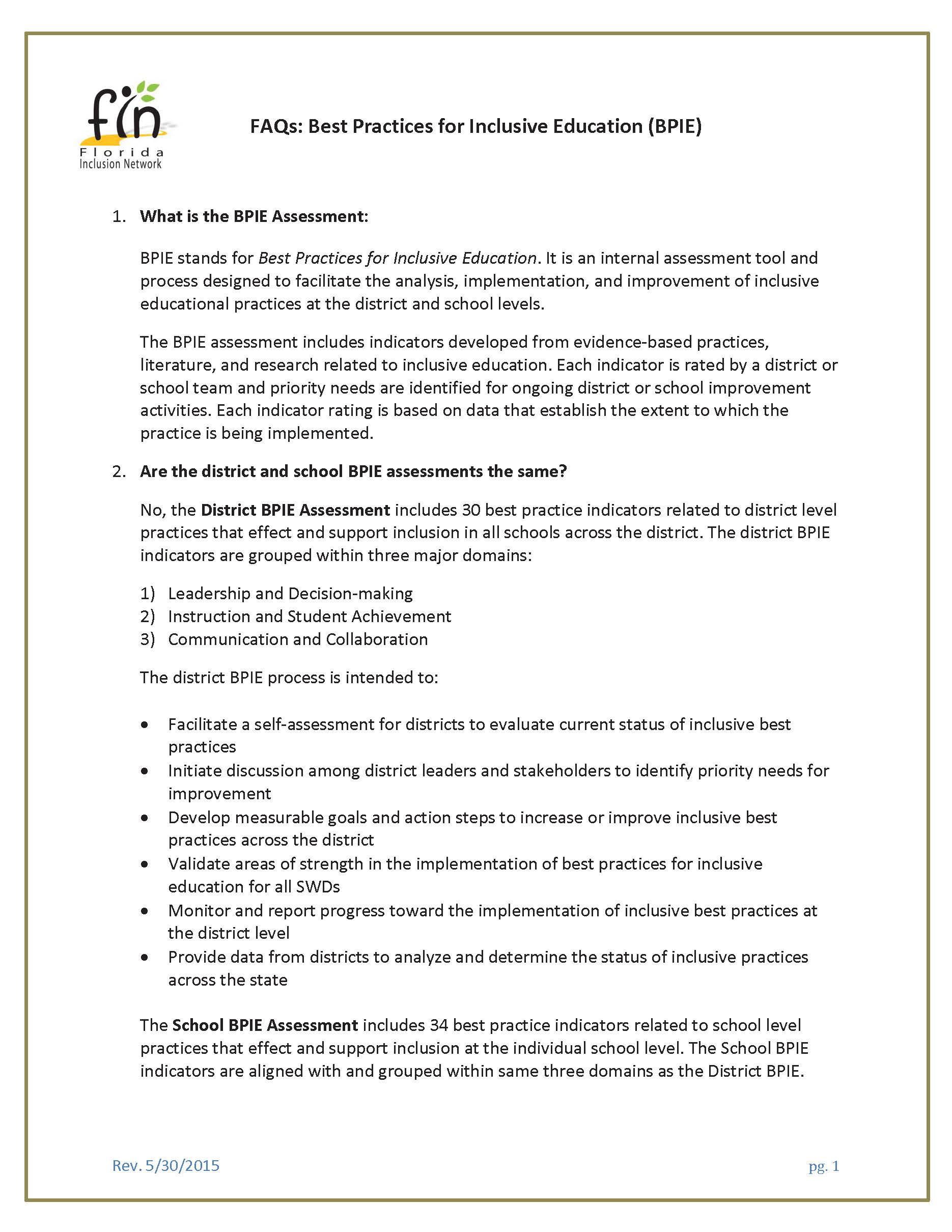 4-School BPIE FAQs page 1