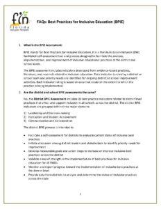 BPIE FAQs