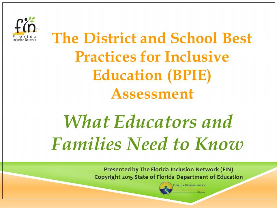 District and School BPIE Overview