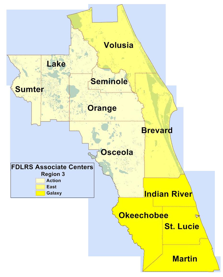 FIN Region 3 Map
